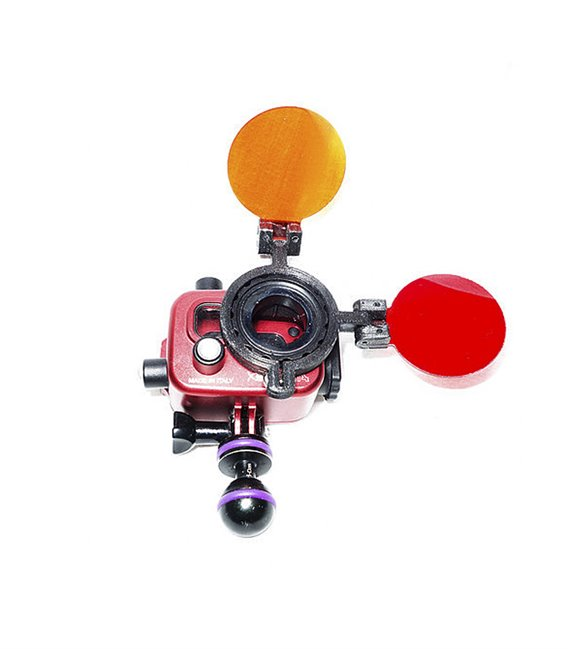Red Filters for actiom cam
