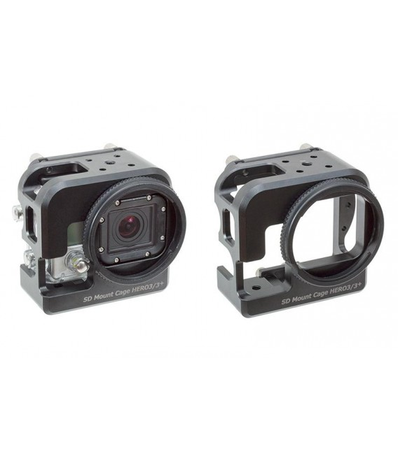 SD Mount Cage for HERO3/3+/4